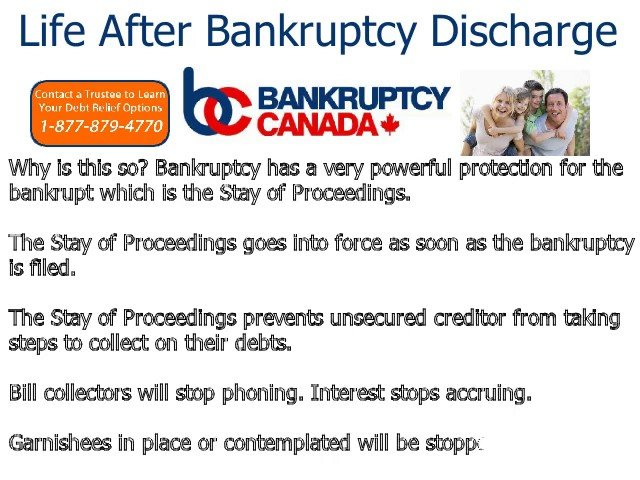 bankruptcy discharge is there life after bankruptcy