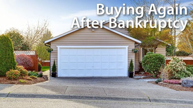 Mortgage after bankruptcy: