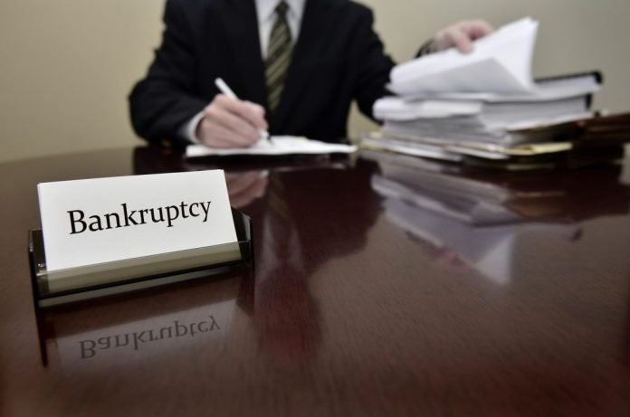 will my bankruptcy filing show up in public records